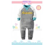 Nexx 38 H - Romper Grey Awesome