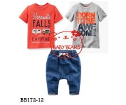 Baby Bear  3in1 Born To Be Awesome (BB17212)
