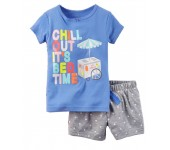 Carters Set Chill Out Its Bed Time CS 44 G
