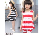 Setelan FG7357 Black (sz 5-11th)