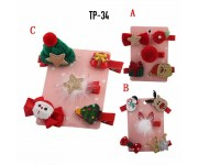 Jepit Anak 5in1 Christmas Edition TP-34